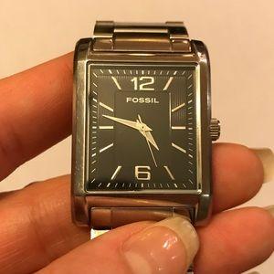 Fossil Arkitekt FS4177 Silver and Black Watch
